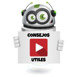 Consejos útiles en video